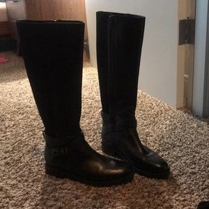 Coach brand new leather boots